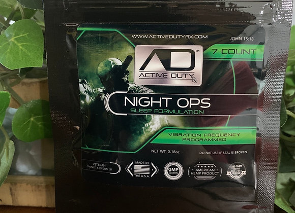 Active duty night ops 7ct capsules