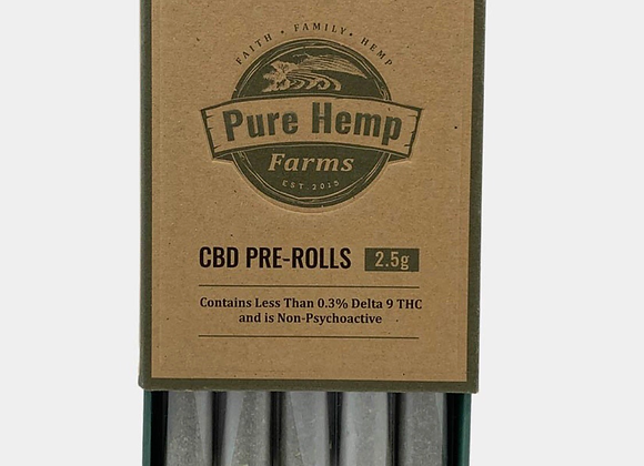 Pack of 5 pre rolls