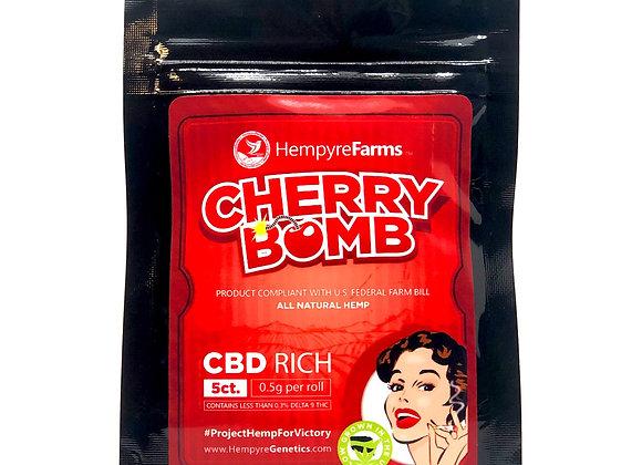 Cherry Bomb 5 pack pre roll