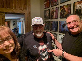 Christina Fajardo, Larry Wilson and Bobby Kallus