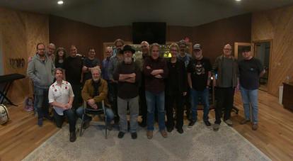 Musicans in Cedar Creek Studio