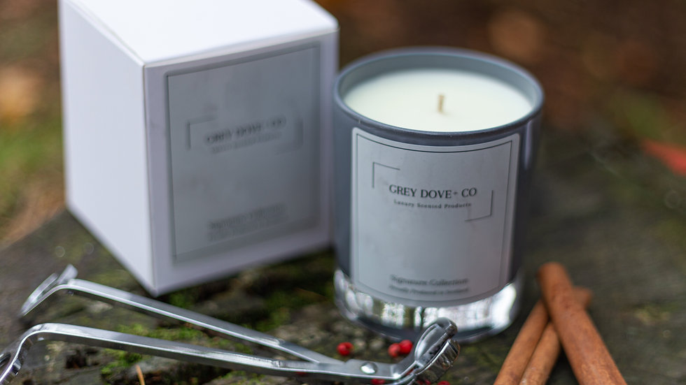 Grey Dove Signature Candle