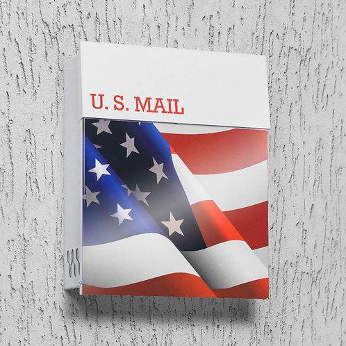 US Flag Mailbox