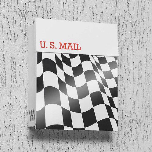 Racer Flag Mailbox