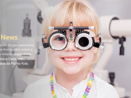 Veja a importância dos cuidados com a saúde dos olhos das crianças