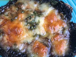 Baked Cheesy Portabellas