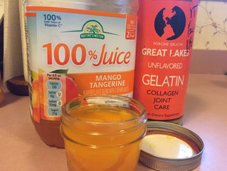 Homemade Gelatin Cups