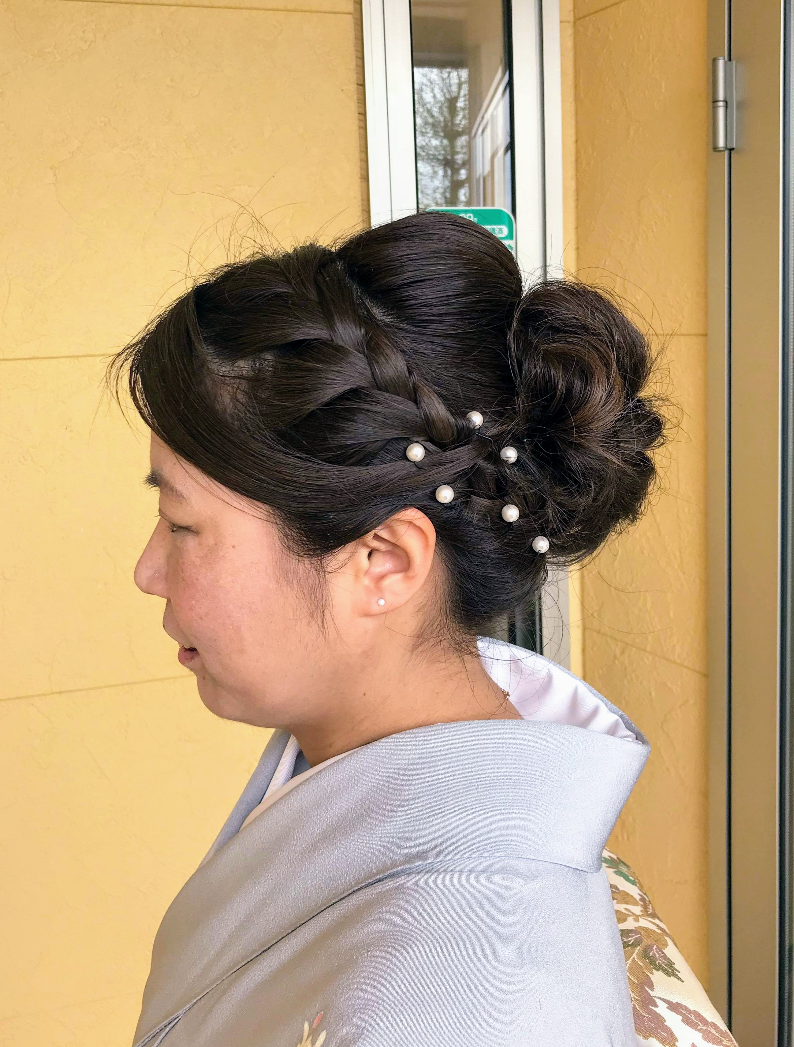 女性和装ヘアセット・ヘアアレンジ プライベートサロンwith-n