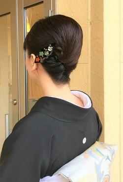 結婚式、冠婚葬祭、着物、和服、正装、和装ヘアセット・ヘアアレンジ|プライベートサロンwith_n|野々市市下林
