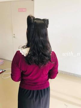 ねこばっか+ワン2018 猫耳ヘアー プライベートサロンwith_n