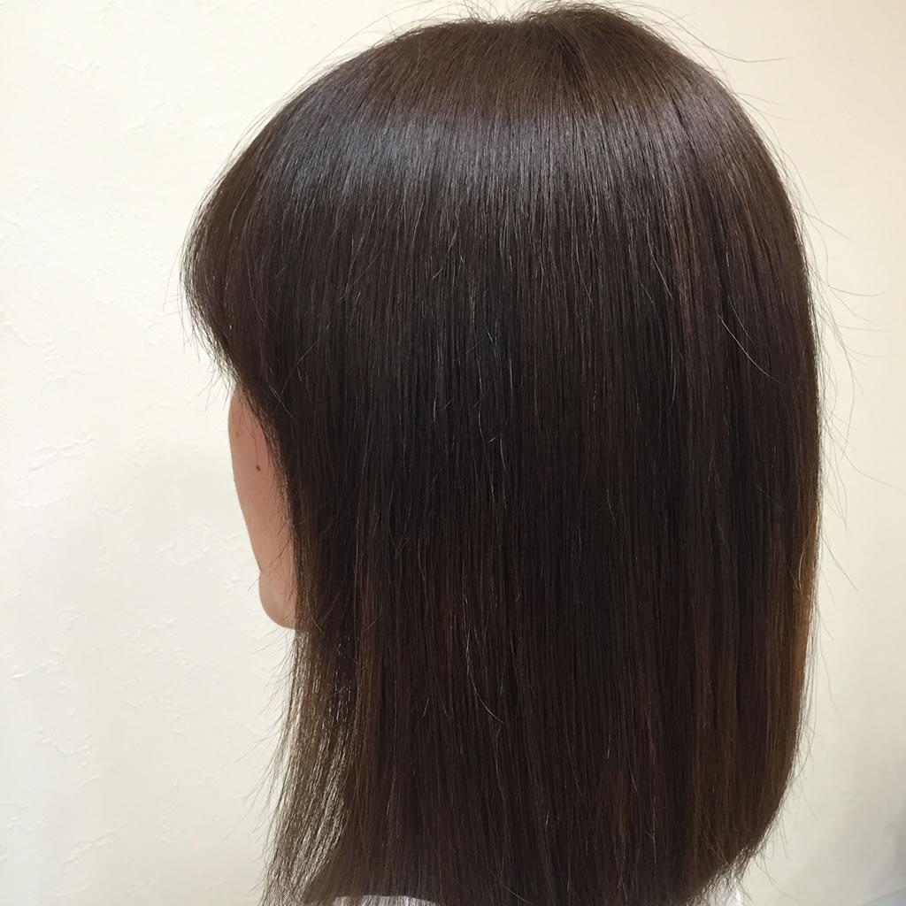女性縮毛矯正 プライベート ヘアサロンwith-n