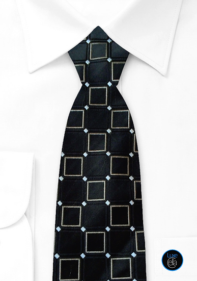 Donald J Trump Signature Collection Embroidered Geometric Power Tie