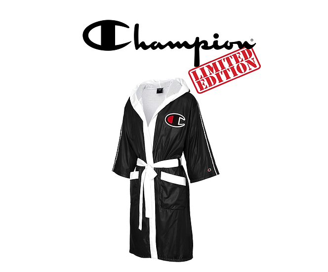 Limited Edition Champion Satin Boxing Hooded Robe