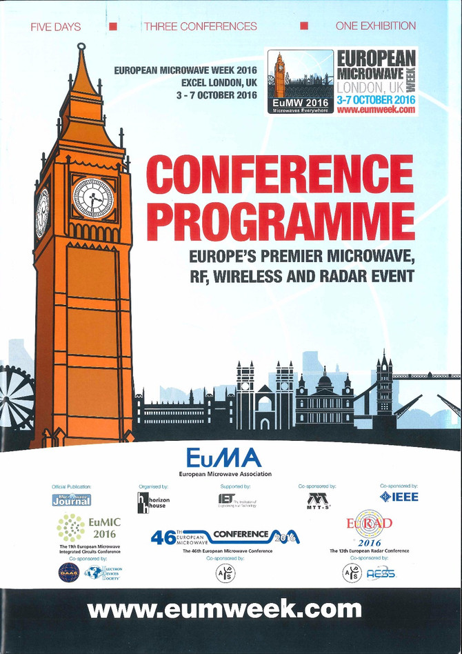 SYMETA at London's European Microwave Week