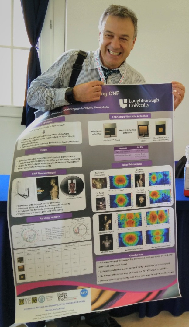 Best poster at the AMTA European Regional Event 2016