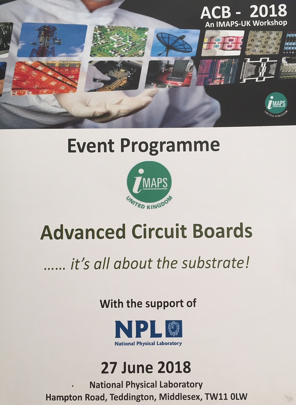 SYMETA at iMaps & ICT Advanced Circuit Boards workshop