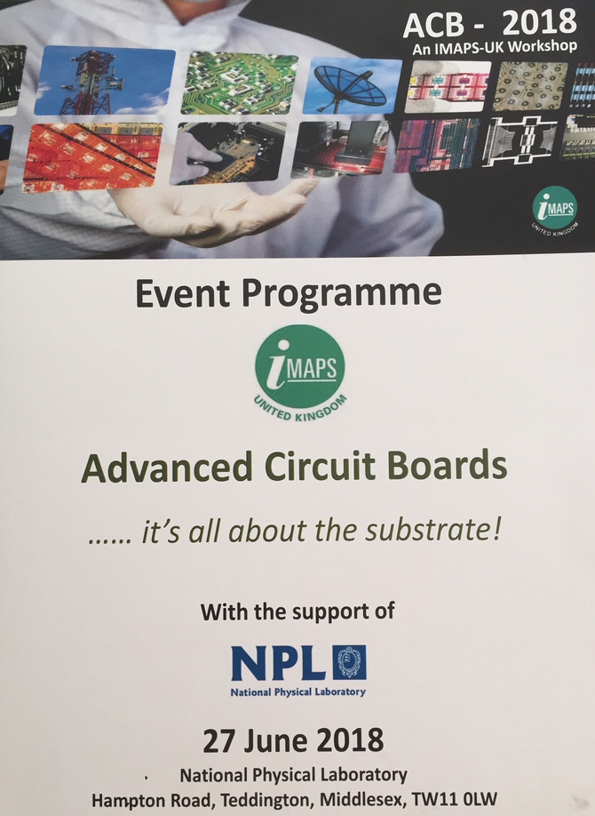 SYMETA at iMaps & ICT Advanced Circuit Boards