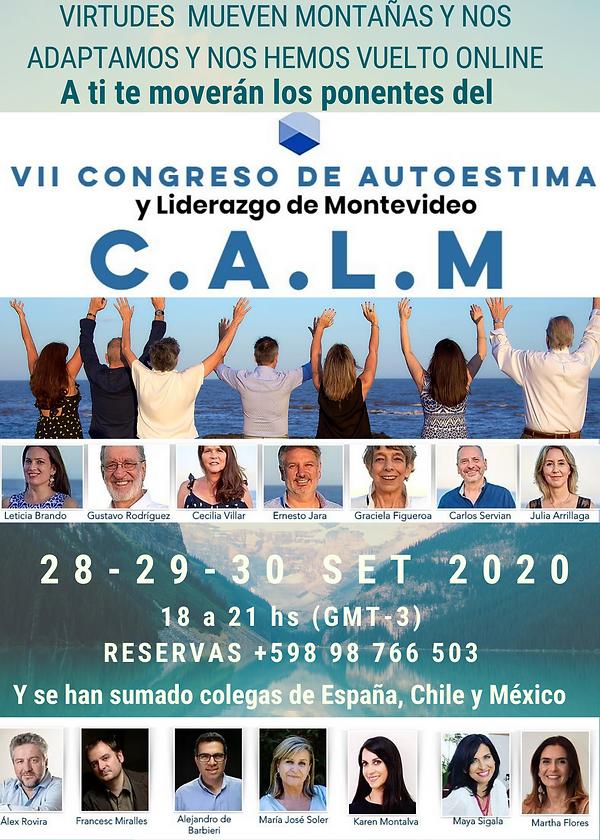 VII CALM 28, 29 y 30 de septiembre 2020.