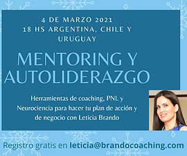 Mentoring y Autoliderazgo con Leticia Br