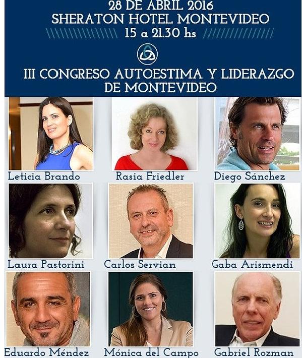 Congreso de Autoestima y Liderazgo de Montevideo