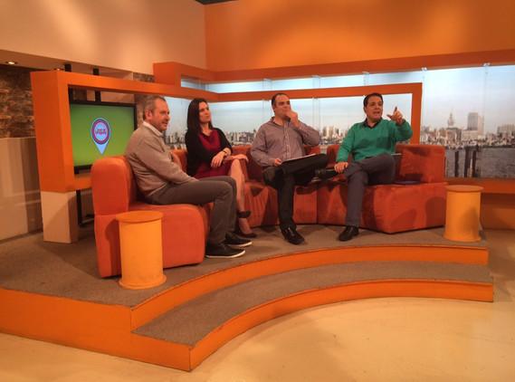 Entrevista en Buen día Uruguay junto a Carlos Servian