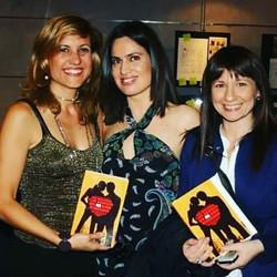 Leticia Brando presenta libro en 2009