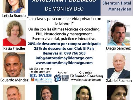 La conciliación como tema del III Congreso de Autoestima y Liderazgo de Montevideo