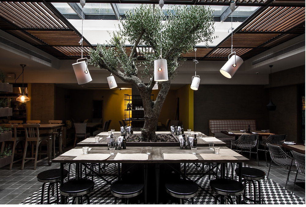 Restaurante Plantado del Hyatt Centric Montevideo