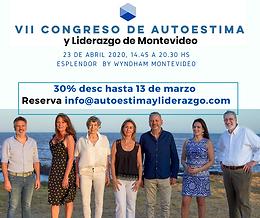 VII CALM 2020 Congreso Autoestima Liderazgo Mdeo