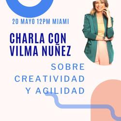 Vilma Nuñez 20 de mayo