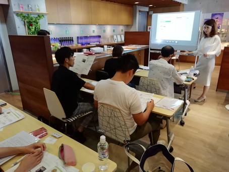 母校ファスティングマイスター学院大阪校でのお仕事