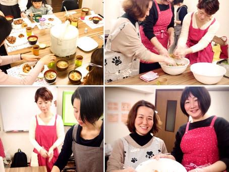 食べて綺麗になる美肌料理レッスン 手作りキムチと寝かせ玄米ランチ付 神戸レポート