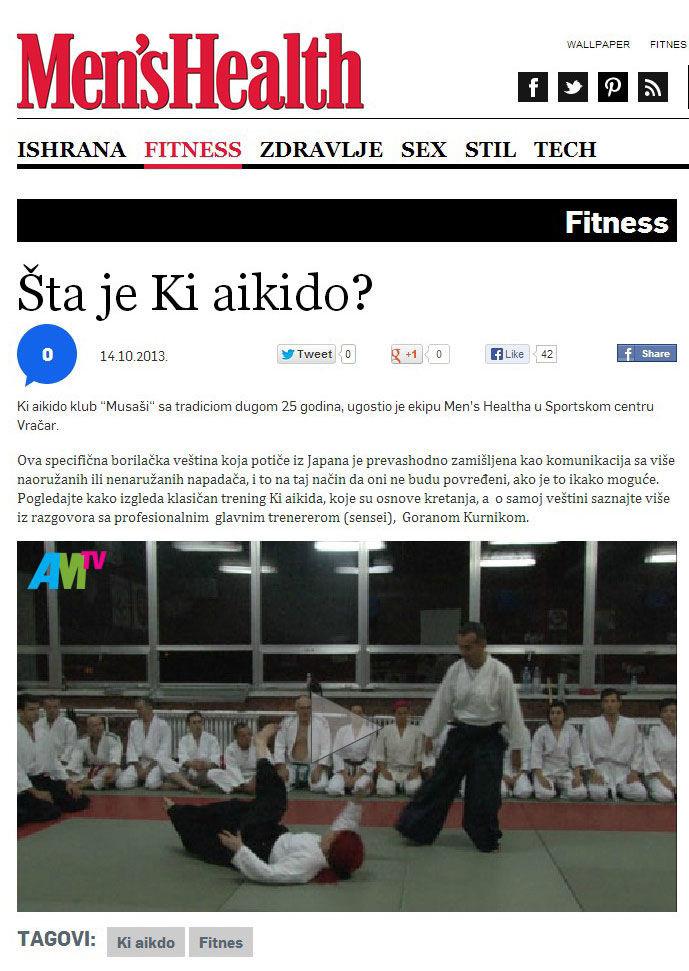 Men's Health šta je ki aikido beograd srbija novi beograd zemun aikido za decu i odrasle