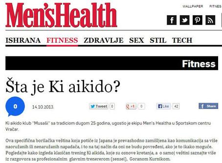 """Šta je ki aikido? - članak u časopisu """"Men's Health"""""""