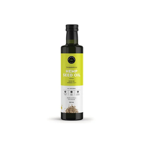 Tasmanian Cold Pressed Hemp Seed Oil