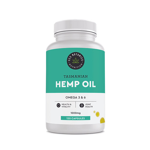 Australian Hemp Seed Oil Capsules (Wholesale)