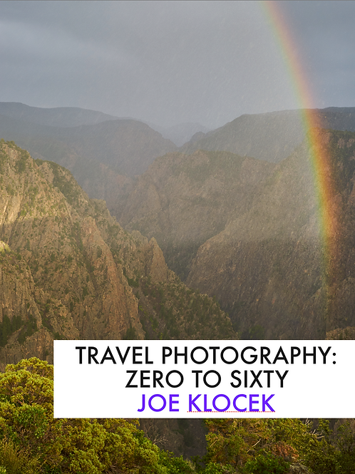 Travel Photography: Zero to Sixty