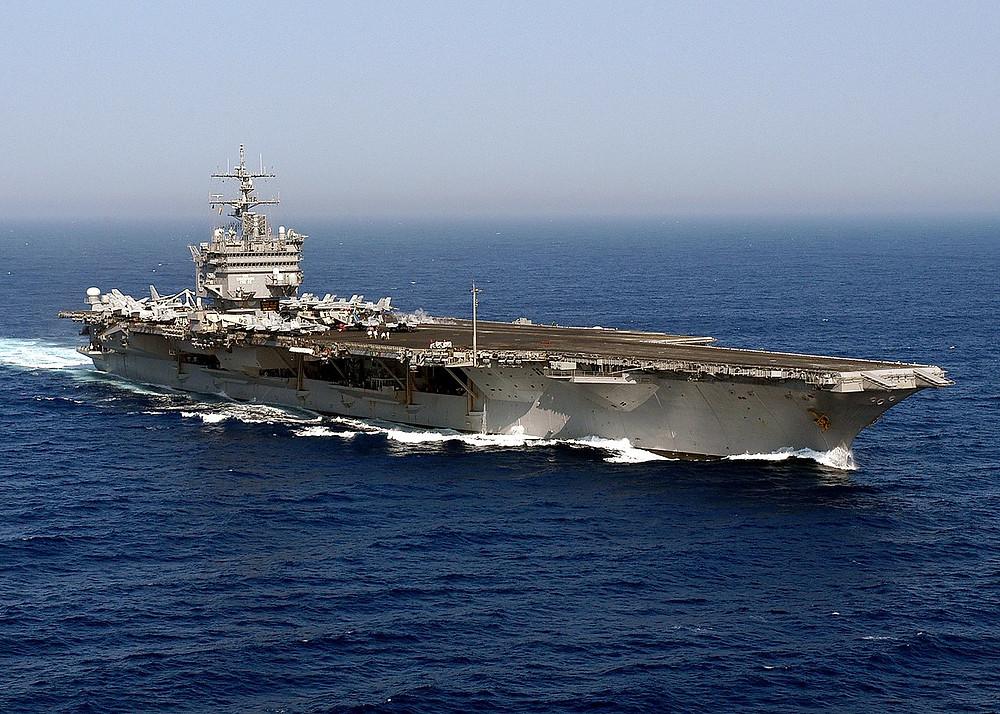 The aircraft carrier USS Enterprise