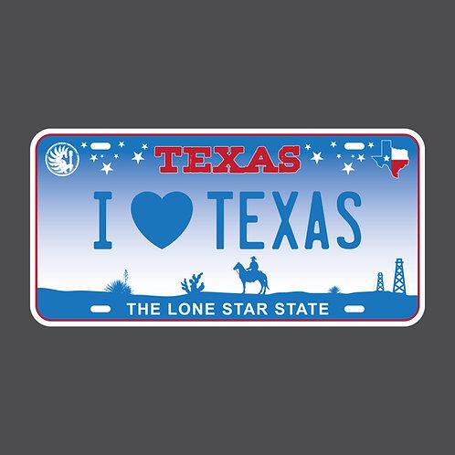 "I ""Heart"" Texas WOMEN'S TEE"