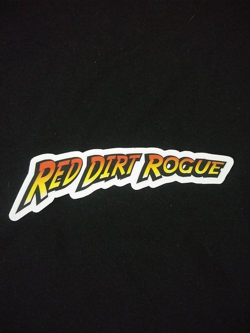 "Red Dirt Rogue ""Indy"" sticker"