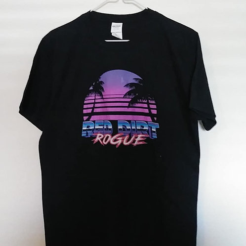 "Red Dirt Rogue ""Miami Vice"" style tee"