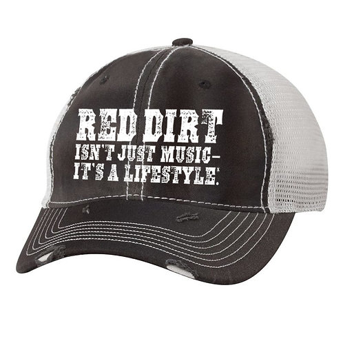 Distressed Red Dirt Lifestyle Hat