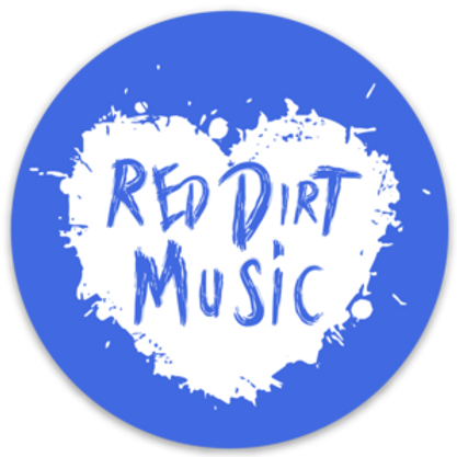 """Red Dirt Heart Decal 3""""x3"""""""