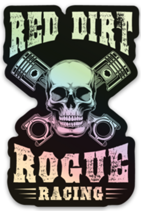 Red Dirt Rogue Racing Decal