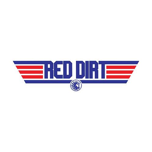 """Red Dirt """"Top Gun"""" inspired sticker"""