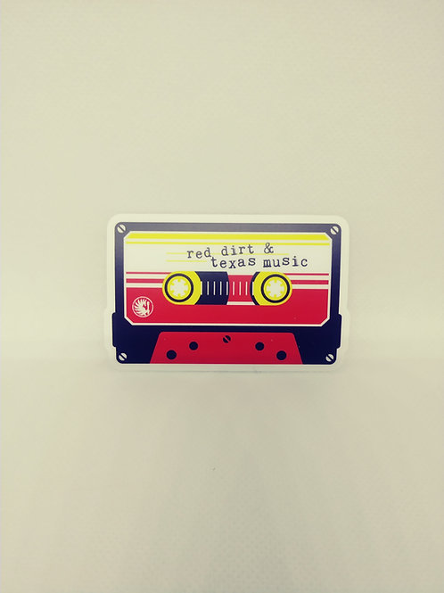 80's Mix Tape (Red Dirt & Texas Music) Decal