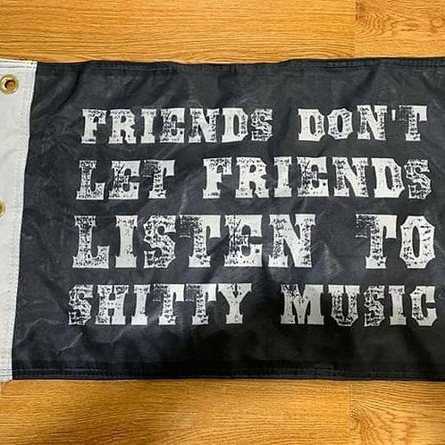 Shitty Music Flag