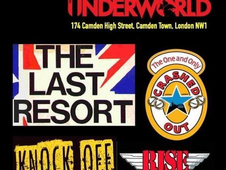 Last Resort to play the Camden Underworld