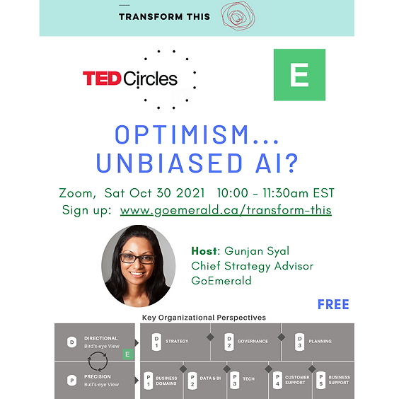 TED Circles: Unbiased AI? (Free)