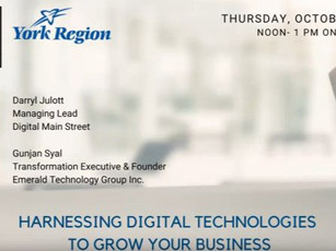 Small Businesses: Harnessing Digital Technologies To Grow Your Business (Free)
